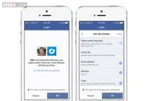 Facebook introduces anonymous logins, lets users limit data shared with apps