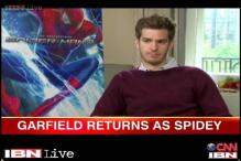 Andrew Garfield returns as masked hero with 'The Amazing Spider-Man 2'
