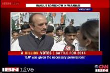 Such a roadshow may be new for Modi, but not for Congress: Azad