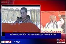 Sonia, Rahul indulging in caste politics: Modi