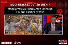 MM Joshi hopeful of Cabinet berth, Modi makes controversial appointments