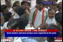 After Andhra poll rout, Cong workers feel they have let down Sonia