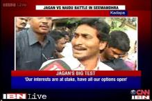 Watch: Jagan Mohan Reddy casts his vote in Kadapa