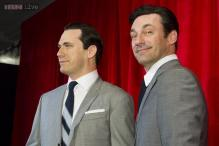 Wax statue of actor Jon Hamm unveiled at Madame Tussauds