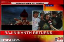 'Rajini mania' in Chennai as 'Kochadaiiyaan' releases today