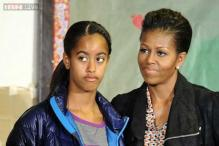 'Look out', jokes Michelle Obama as she reveals her daughter Malia will be driving this summer