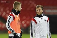 Germany's Marco Reus, Mario Goetze itching for action in Brazil