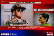 Martyr's widow to get land as compensation after a long wait of 7 years