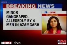 UP: Four men gangrape minor girl in Azamgarh, no arrests so far