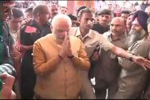 Modi bids farewell to Maninagar as he heads to 7 RCR