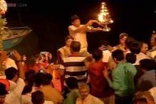 In pics: Narendra Modi, Rajnath Singh, Amit Shah at Ganga Aarti