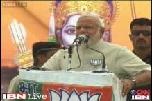 Modi invokes Ram at Faizabad rally, EC seeks report