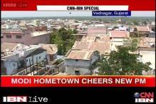 Gujarat: Vadnagar lauds its son, PM-elect Narendra Modi