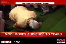 Narendra Modi in tears: How India saw the softer side of a tough man