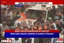 Congress complains to EC against Modi's Varanasi roadshow