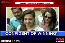 Watch: Moon Moon Sen and her daughters cast their votes in Bengal
