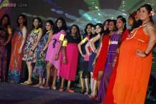 Photos: Moms-to-be walk the ramp for a fashion show at Mothers' Day in Bangalore