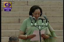 Najma Heptullah- the only Muslim face in Narendra Modi Cabinet