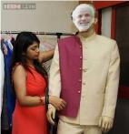 Snapshot: Meet Narendra Modi's designer who uses a model wearing a Modi mask for measure