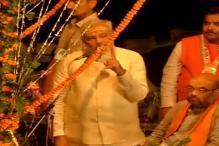 Narendra Modi visits Dashashwamedh Ghat, attends Ganga aarti