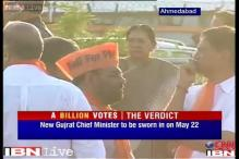 Gujarat to get new CM on May 22, Anandiben Patel the front-runner