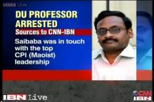 DU professor arrested on charges of working for banned Naxal organisation