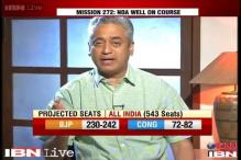 Watch: NDA well ahead of UPA in post-poll survey