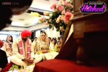 Photos: Inside MTV VJ Rannvijay Singha's wedding ceremony