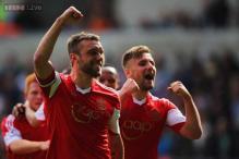 Lambert goal earns Southampton 1-0 win at Swansea