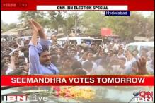 Seemandhra: Crucial battle between Jagan Reddy, Chandrababu Naidu