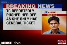 Maharashtra: Woman dies after TC pushes her off a moving train