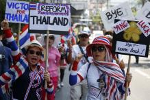 Thai protesters rally to 'sweep' away Thaksin regime