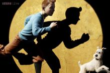 Original page of Tintin drawings sets comic strip record at auction