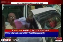 Watch: Heated arguments between TMC, CPM workers in West Midnapore