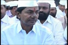 TRS MLAs elects Chandrasekhar Rao as party leader in Andhra assembly