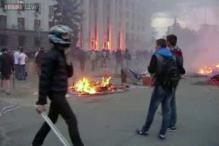 Ukrainian unrest spreads; dozens dead in Odessa