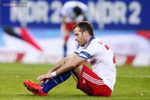 Dutch midfielder Rafael van der Vaart out of football World Cup