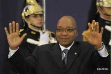 Zuma sworn-in as South African president for second term