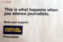 New York Times prints a blank back page in support of jailed Al-Jazeera journalists