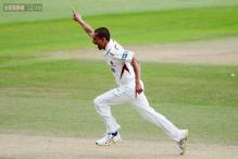 Somerset's Alfonso Thomas takes four wickets in four balls