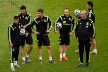 FIFA World Cup: Spain arrive in Salvador for Netherlands tie