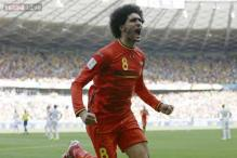 World Cup 2014: Belgium come from behind to beat Algeria 2-1
