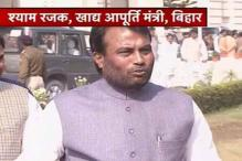 Bihar Food minister Shyam Rajak rebuts Ramvilas Paswan charges