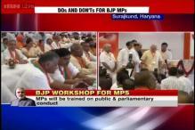 PM Modi tells his MPs to have a good 'aachaar, vichaar and vyavahaar'