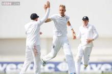 2nd Test: Stuart Broad takes hat-trick as England dismiss Sri Lanka for 257