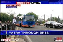 Budget yatra: Success story of BRT in Ahmedabad