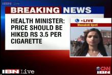 Health Ministry writes to Finance Ministry, demands cigarette price hike