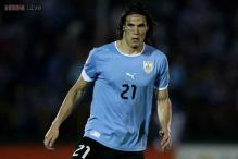 Uruguay down Slovenia 2-0 in World Cup warm-up