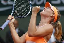 Sharapova beats Halep to win French Open for second time