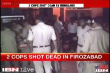 UP: Violent protests in Firozabad after death of 2 police constables